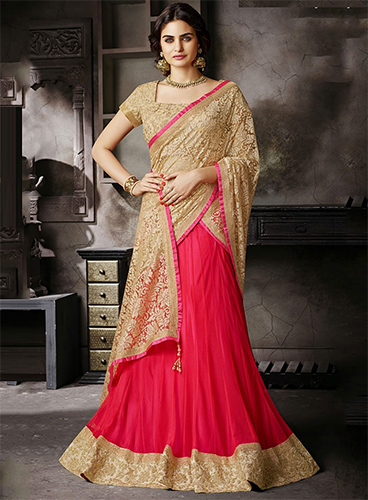 Find Out Best Fabric Materials For Your Stunning Lehenga Sarees