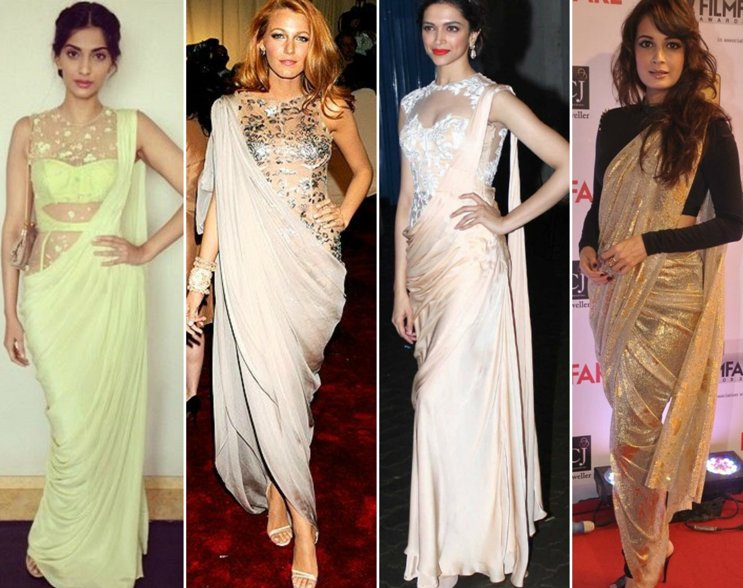 Getting Your Wardrobe Right In The Age Of Fusion Sarees