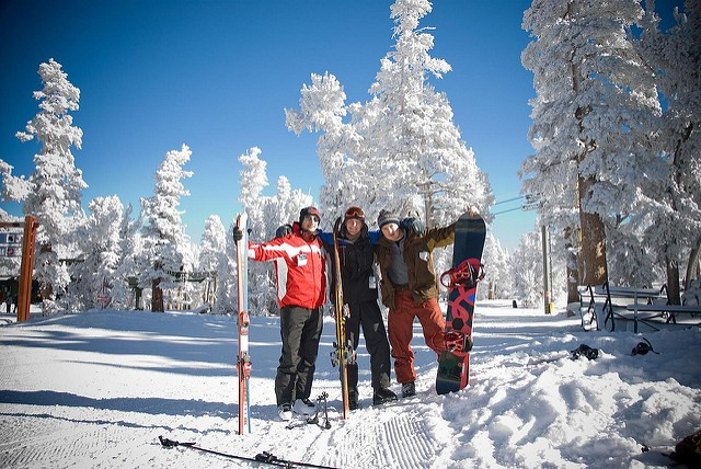 Winter Holiday: 5 Ski Resorts near San Francisco