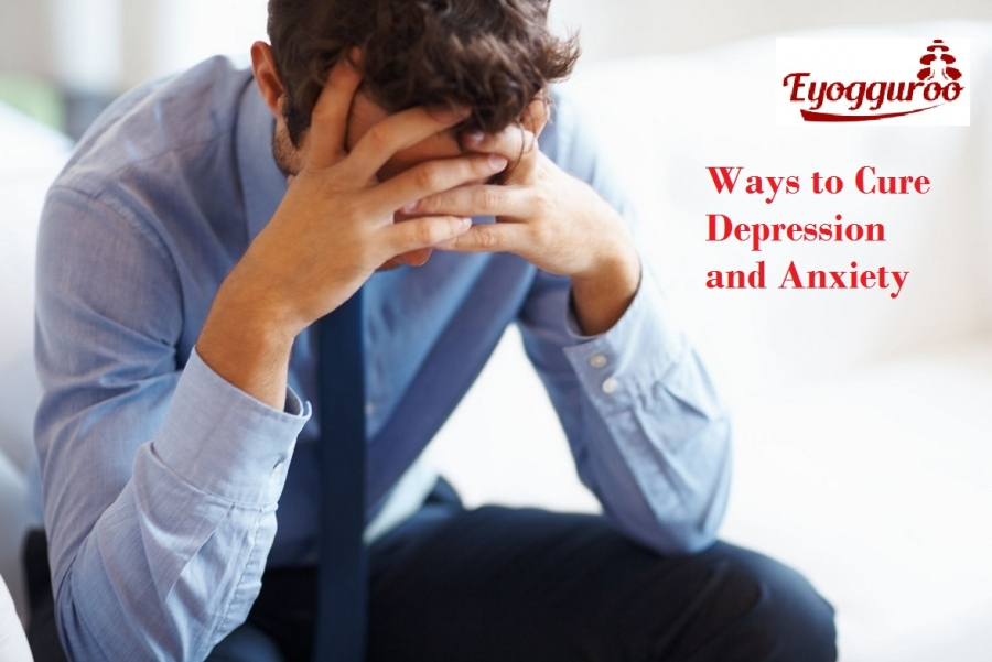 Ways To Cure Depression and Anxiety At Home
